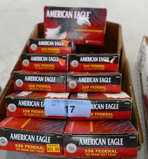 200 rds American Eagle 338 Federal Ammo