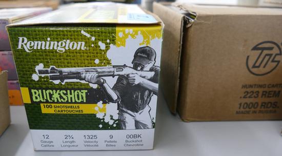 100 rds Remington Buckshot Ammo