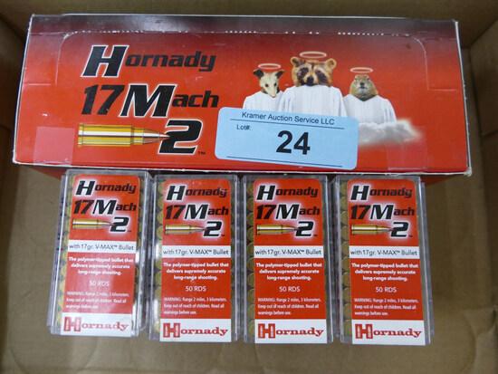 900 rds Hornady 17 MACH II Ammo