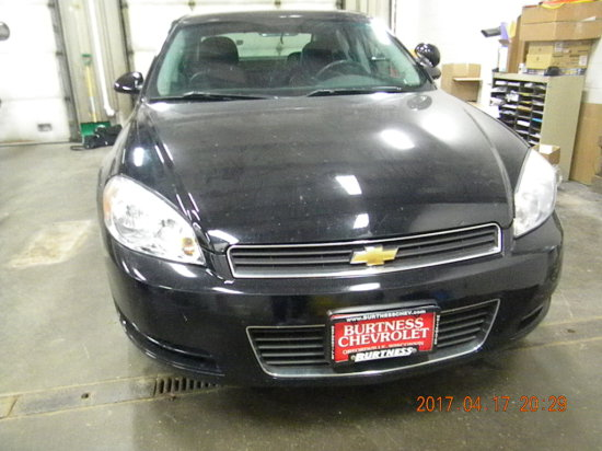 2008 Chevrolet, Impala, Police Sedan, 3.9 L, 4 Door, 62,976 Mil, V/6, Flex Fuel, Vi