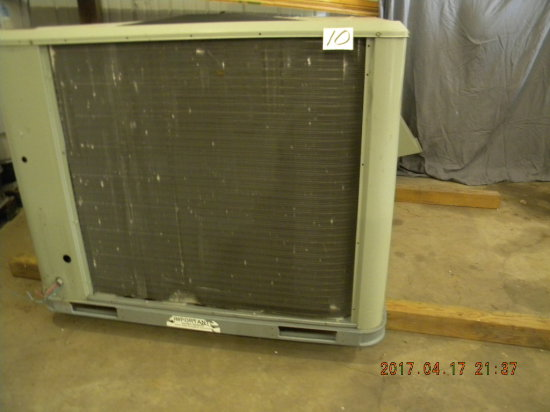 "Trane Ffoundation Ac=heating Unit, 52"" X 86"