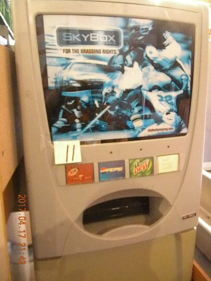 Sky-boy Soda dispensing machine (needs Service).