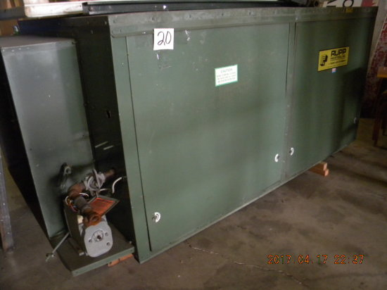 "Rupp-gas Direct Fire Heater Furnace. 82"" X 48""."
