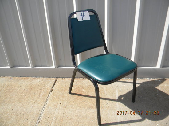 8= Steel Framed Stacking Chairs