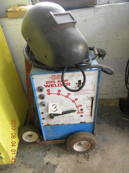 Rod Welder, Sanborn Manufacturing, 295 Amp.