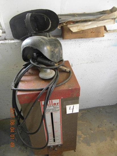 Ac Arc Welder, Miller; Box Of Welding Rods.