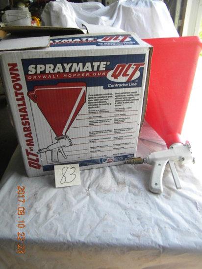 Spraymals Drywall Hopper Gun