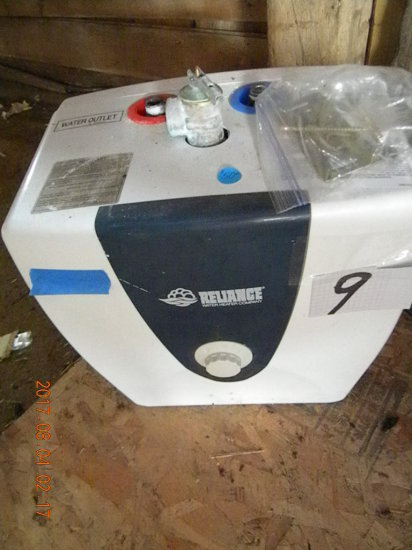 Water Heater, Relaince, Under Counter Electric Water Heater, Model 6253 Ns