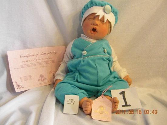 Lee Middleton Original Doll: First Born Boy (romper Series)