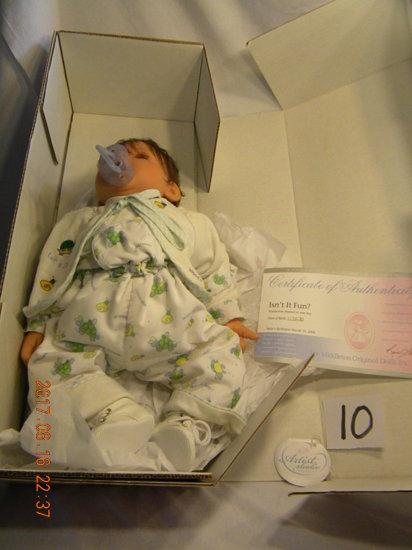 Lee Middleton Original Doll: Artist Studio Collection: Isn't It Fun. No Bi