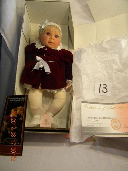 Lee Middleton Original Doll: Dressed For The Holidays