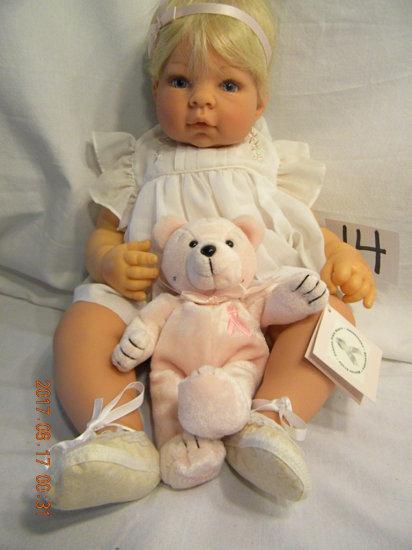 Lee Middleton Original Doll: Artist Studio Collection: Tiny Ruffles, No Cer