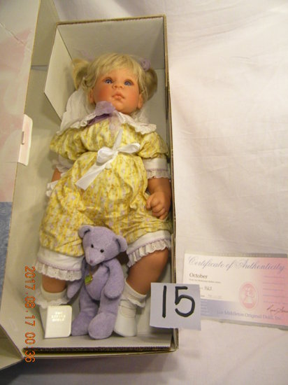 Lee Middleton Original Doll: Artist Studio Collection: October