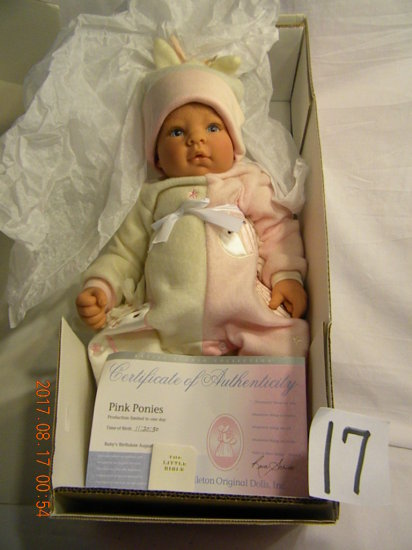 Lee Middleton Original Doll: Artist Studio Collection: Pink Ponies #00786