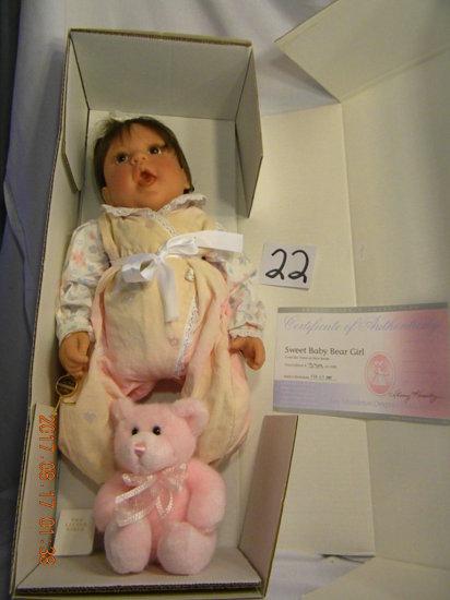 Lee Middleton Original Doll: Sweet Baby Bear Girl #00435