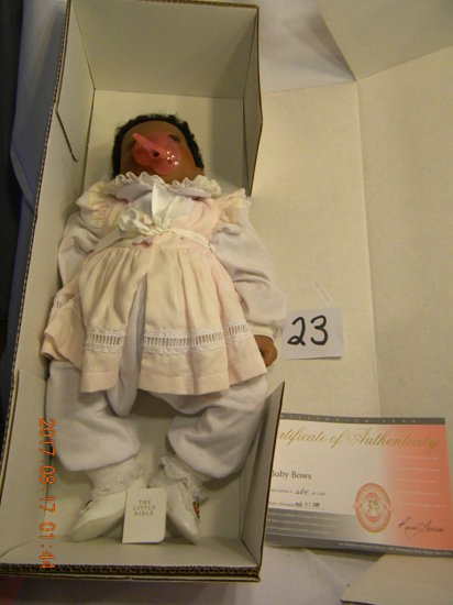 Lee Middleton Original Doll: Baby Bows #00315, No Certificate