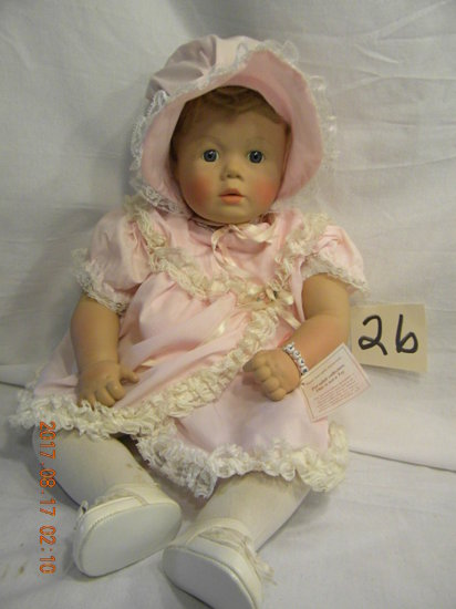 Pat Secrist Doll, 1985,Made in  Usa, #318 Johnnie Zook.