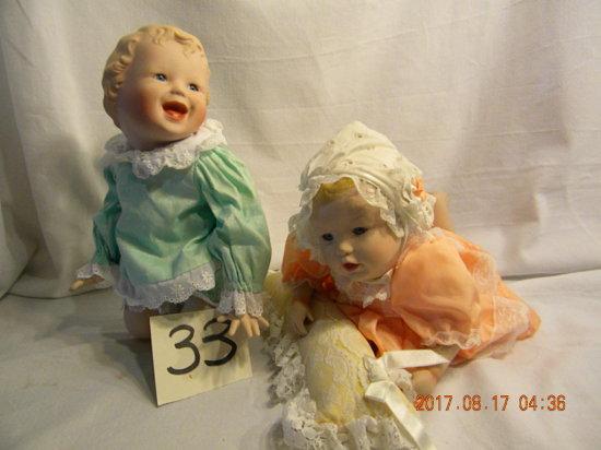 "Ashton Drake Dolls: Jessica And Heather, 14""h, By Yolando,jessica=3834, Hea"