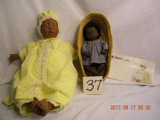 """Lee Middleton Original Doll: """"dear One"""", Black, 1985, 263, V 0-171185."""