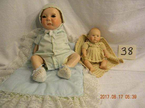 "Dolls: B Creedy ""kate"",; J Turner Doll, 1986, Artist"