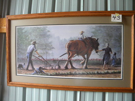 Framed Print: Rogan Henning - A Family Affair 146/500, With Certificate Of