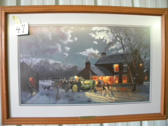 Framed Print: D. Barnhouse - Winter Can Be Fun, With Certificate Of Authent