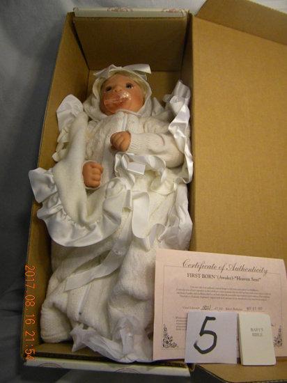 Lee Middleton Original Doll: First Born (awake) Heaven Sent