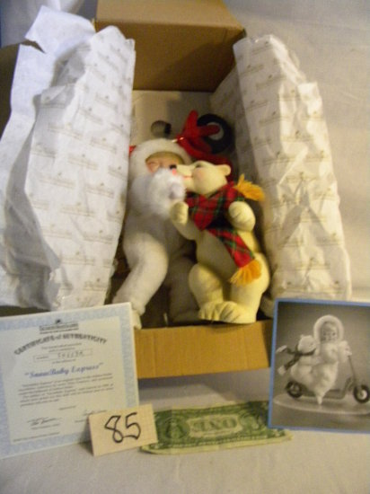 "Ashton Drake Doll=""snow Baby Express"", 54657a"