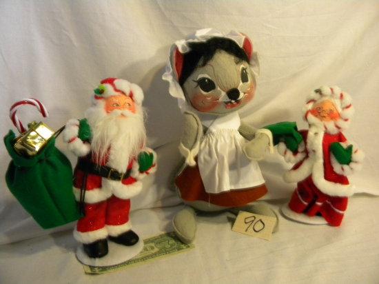 "Mr. And Mrs. Santa Claus, 9 & 10 """"h"