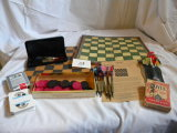 Games- Darts; Checkers; Cards And More.