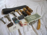 Razor Pieces; Strap; Brushes; Blades; Etc.