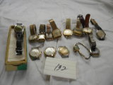 Men's Watches Total= 4 Bolivia's; 2 Elgin's; Westclox; 4 Sheffield's; Croto