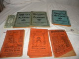 Collectibles= 1912, 1912 And 1915 Ranonm Family Receipt Books; 1953 And 19