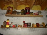 Large Assortment Of Old Kitchen Baking Cans.