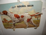 Advertisement= Gobel Beer, Hunting Dog, 18