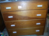 Four Drawer Dresser, Pine