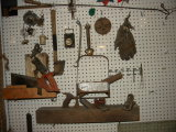 Lot= Tobacco Stalk Cutter; Pepsi Cola Metal 6 Pack Carrier; And More.