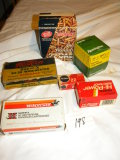 Ammunition= 1 Box, 550 Rounds, 22 Cal Shells; 3/4 Box 4-10 Gauge Shells; Bo