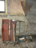 Pair Of Auto Ramps; Fish Poles, Zebco Reels; Pair Of Fishing Poles W/zebvo