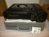 Fantastic Portable Gas Range, W/o Gas, New, 2 1/2h X 13
