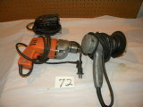 Electrical Tools= Circular Sander; Surface Sander; 1/2