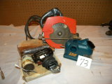 Circular Saw, 7 , Drill Doctor, Soder Gun