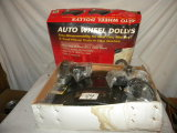 Auto Wheel Dollies, Pair, New.