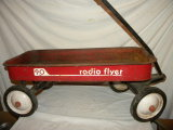 Wagon=radio Flyer, 90, Old.