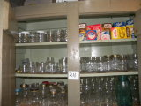 misc glass canning jars