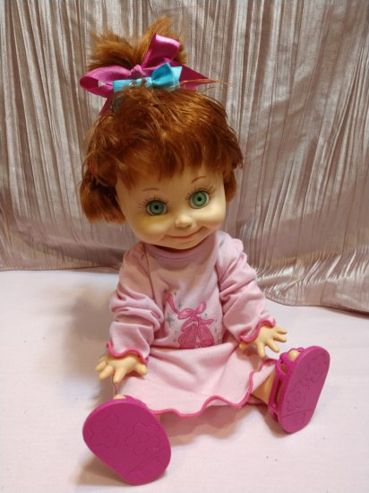 Very Rare & Cuddly Cute! 1990 Galoob Doll #9 Inlcudes Pjs, Outfit, Blanket & Comb!