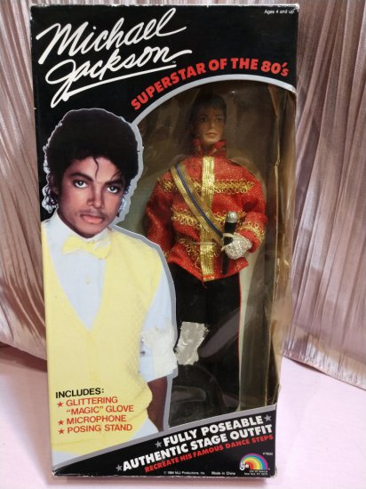 Michael Jackson Superstar Of The 80s Doll