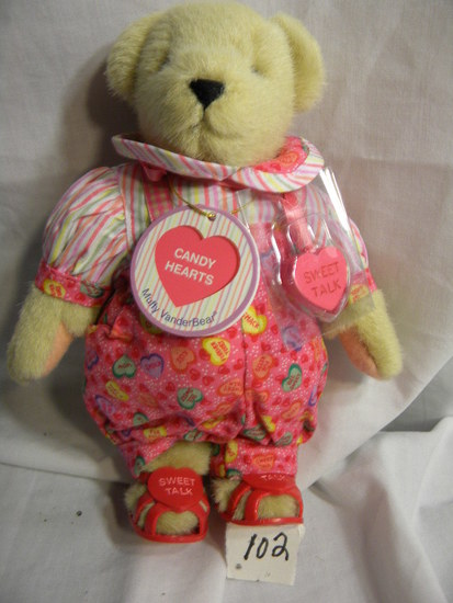 "8"" Muffy Vander bear, ""Candy Hearts"""