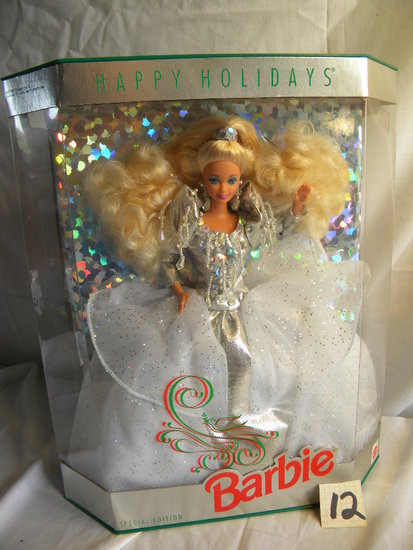 "Barbie = ""A Holiday Fantasy on Sparkling Chrystal and Silver"", Picture for"