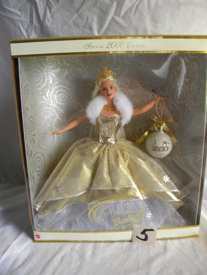 "Barbie =Collection, ""Special 2000 Series"". Mattel #28268, ""Symbolizes the H"